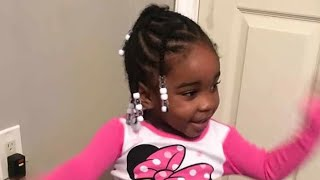 JEALOUSY??? Mother Cuts Daughter's Hair Because The Daddy Had It Done
