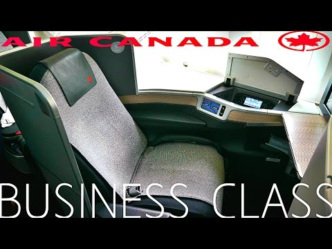 Air Canada BUSINESS CLASS to LONDON