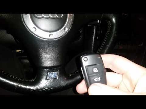 Подключение сигнализации на Audi A6 C4 2.5 TDI