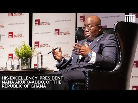 His Excellency President Nana Akufo-Addo, President Of The Republic Of Ghana