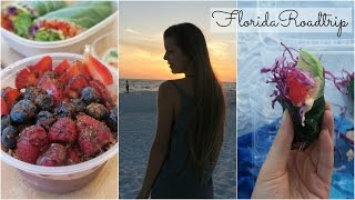 WHAT I ATE on a ROADTRIP TO WEST FLORIDA ☼ VEGAN | Epic Sunset Dinner
