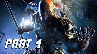 Injustice Gods Among Us Walkthrough Part 4 - Deathstroke (Let's Play Commentary)