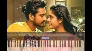 Naalo Chilipi Kala song | Lover Movie | Piano Cover Version
