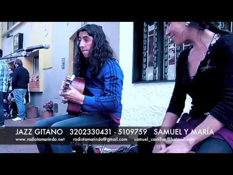 JAZZ GITANO - BOGOTÁ música en la calle / street music