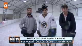 Kaçak'ın Yakışıklı Oyuncusu Burak Deniz'le Buz Hokeyi - Dizi TV atv