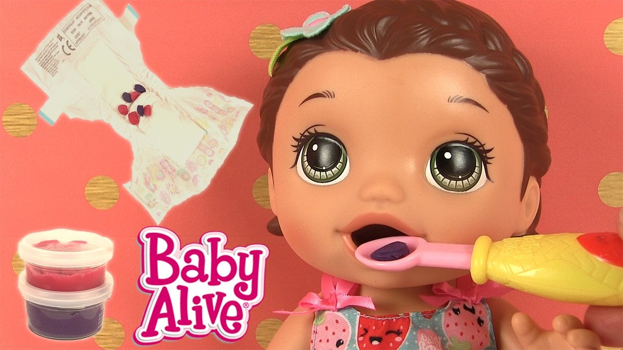 Baby Alive Lily B 233 B 233 Glouton Super Snacks Snackin Lily