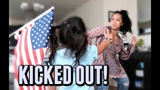 KICKED OUT AT MY OWN HOME! -  ItsJudysLife Vlogs
