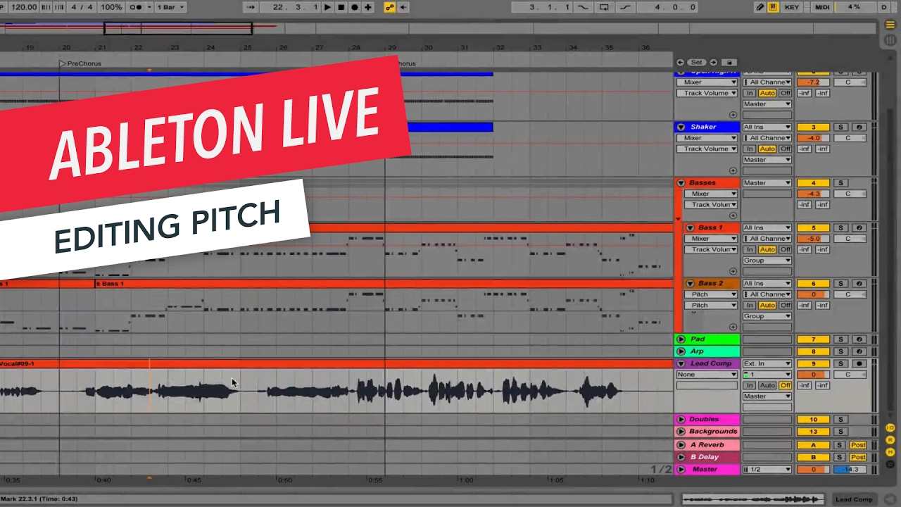 Ableton Live: Editing Pitch | Tips & Tricks | Berklee Online