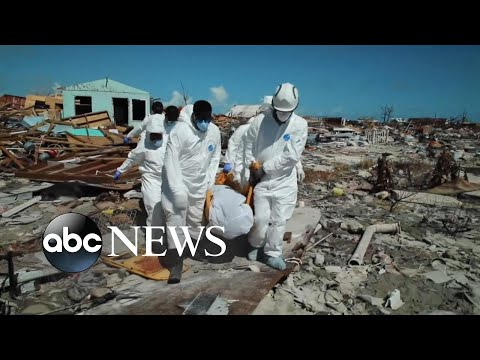 Power grid in Bahamas' Marsh Harbour completely destroyed l ABC News