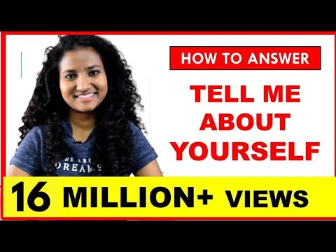 Interview Question: Tell Me About Yourself | Best Answer For Freshers & Experienced People ✓