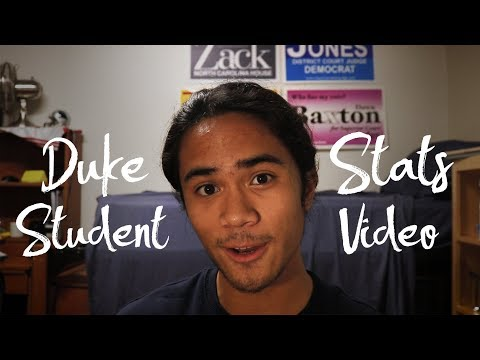 Duke Admit/Student Stats Video (ACT, SAT, GPA, and more!)