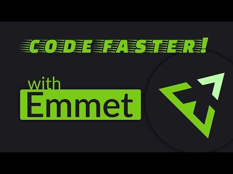 Emmet = Faster HTML & CSS Workflow!