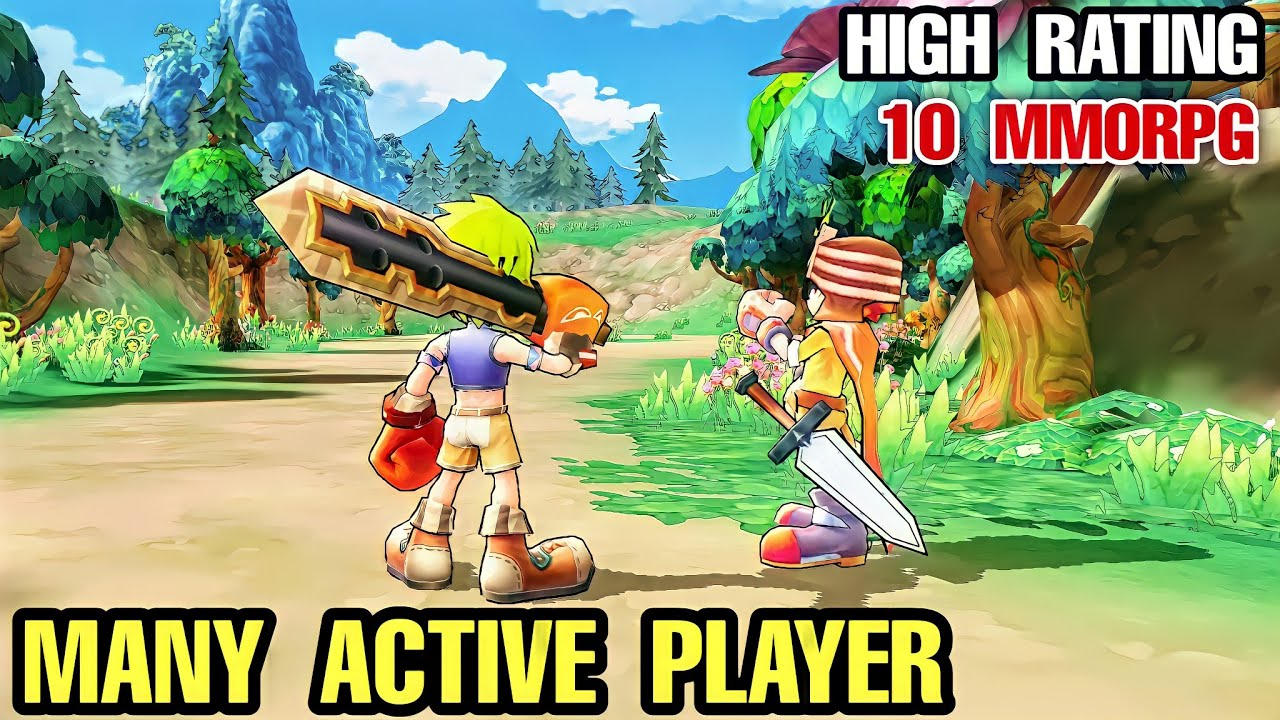 Download Top 10 MMORPG with MOST ACTIVE PLAYER for Android | 10 MMORPG with Lot of Player for Mobile