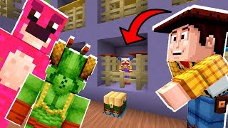 Minecraft Toy Story - Can Woody Save Toys From Lotso's Jail!? [14]