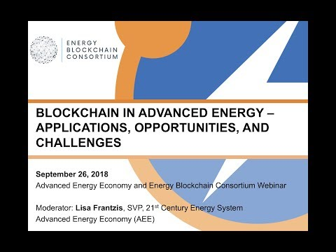 Blockchain in Advanced Energy – Applications, Opportunities, and Challenges