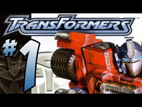 Let's Play Transformers! (PS2) Playthrough Part 1 - Optimus Prime Gameplay!