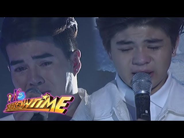 It's Showtime: Maru, Bugoy and some members of Hashtags emotionally give their messages for Franco