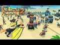 Warriors Arena Battle! [Mobile Games]   Epic Battle Simulator 2 #1
