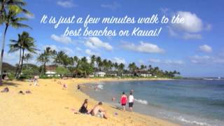 Hideaway Cove's Oceanview 3 Bedroom 2 Bath Air Conditioned Vacation Rental Poipu Kauai