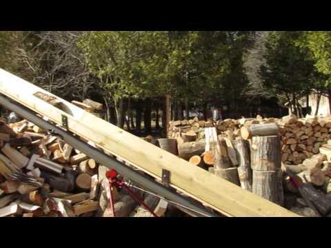 Wood Splitter Slinger