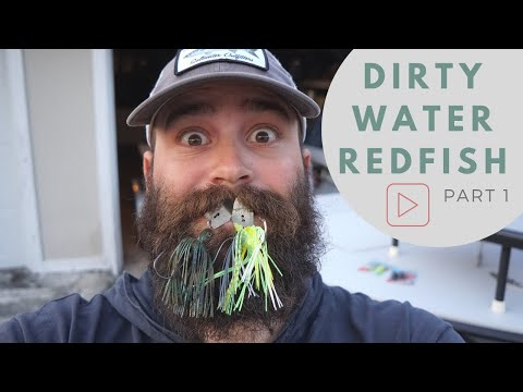 Catching Redfish In Dirty Water (EPISODE 1) - How To Fish A ChatterBait For Redfish In Dirty Water