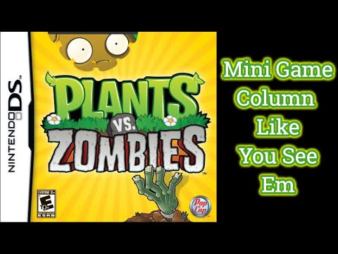 Plants vs. Zombies DS | Mini Game - Column Like You See Em | Part 12