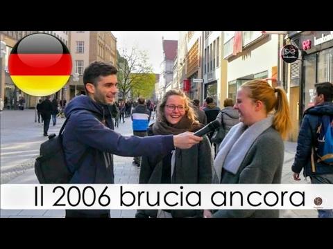 'Cosa i tedeschi pensano degli italiani ?' Domande a Monaco -thepillow