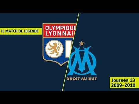 Résumé Olympique Lyonnais - Olympique de Marseille (5-5) OL/OM - 2009/2010 - Ligue 1 Legends