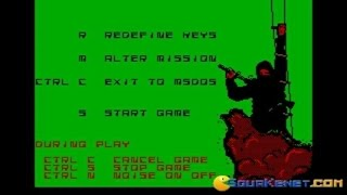 Saboteur 2 gameplay (PC Game, 1987)