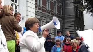 Хмельницький: акція протесту, ринок Ранковий