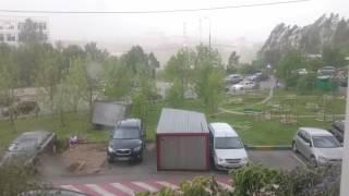 """Ураган в Москве 29.05.2017 - улетела """"ракушка"""""""