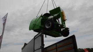 Машина для запаковки зерна в мешки ЗПМ-180