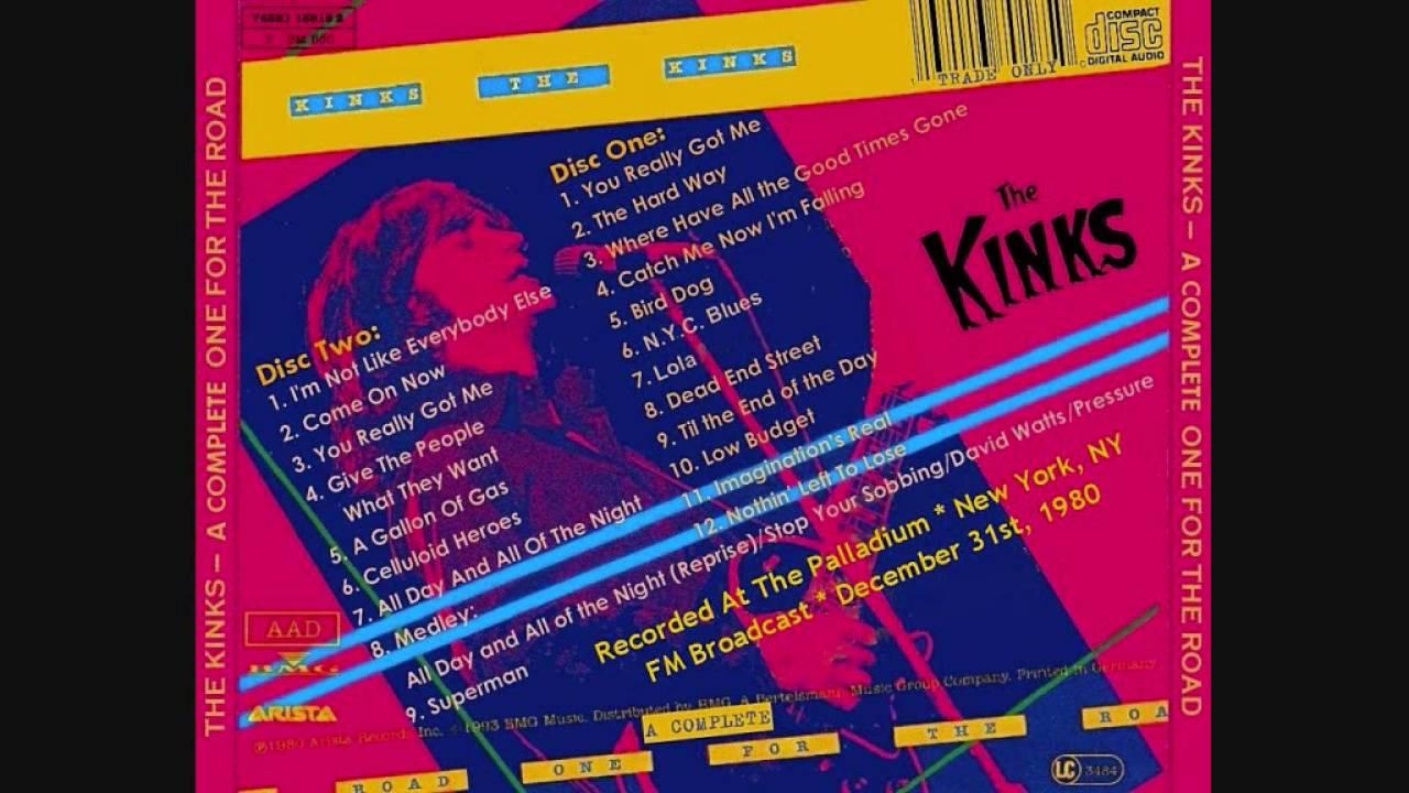 The Kinks - Lola (live) Disco Version