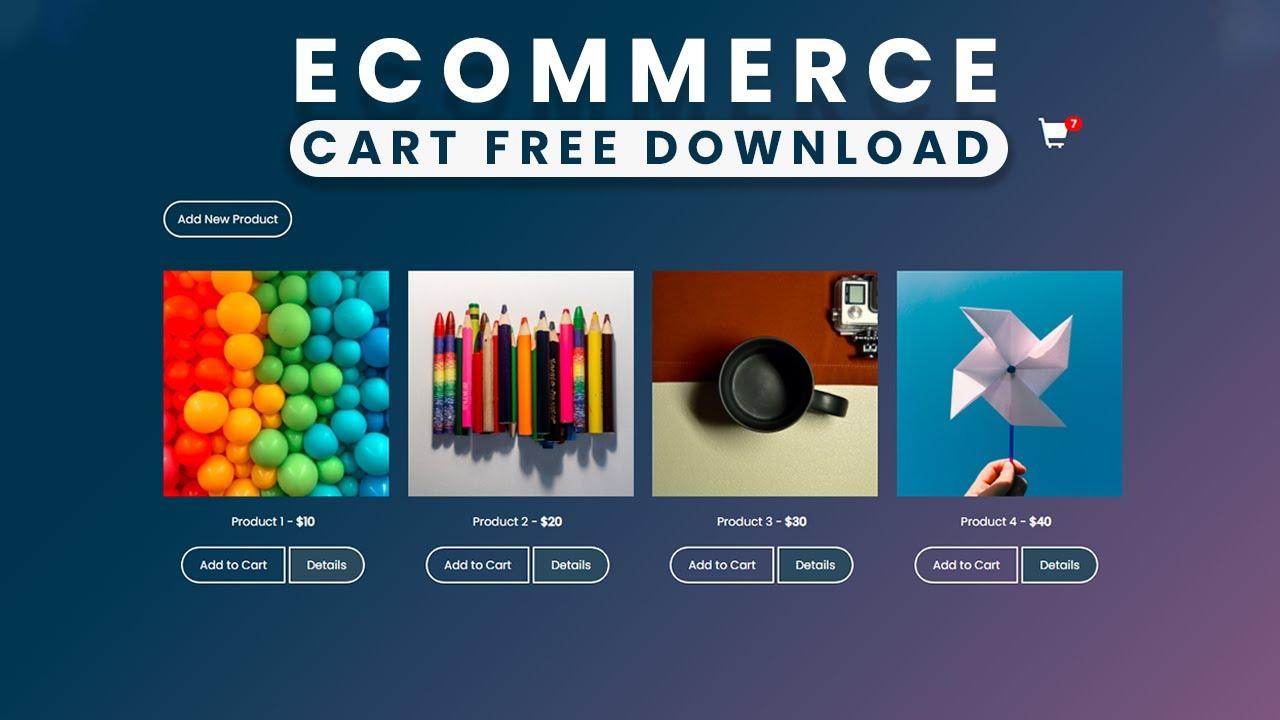 Flipkart or Amazon Like Ecommerce Cart Design using HTML CSS JQuery