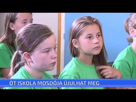 Öt iskolában újulnak meg a mosdók szeptemberre