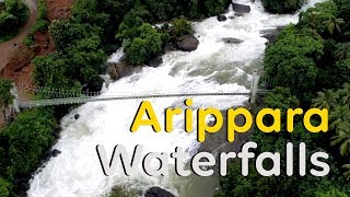 Arippara waterfalls in Kozhikode