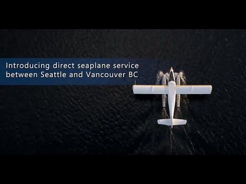 Introducing seaplane flights between Vancouver & Seattle