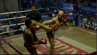Thailand Muay Thai Vlog #13 - My Fight in Haad Rin, Koh Phangan