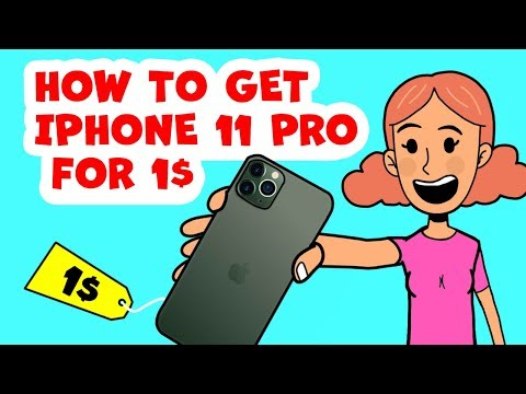 HOW TO GET IPHONE 11 For 1$