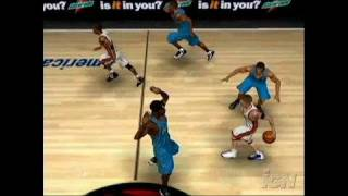 NBA Live 06 PlayStation 2 Gameplay - Fast Breaks