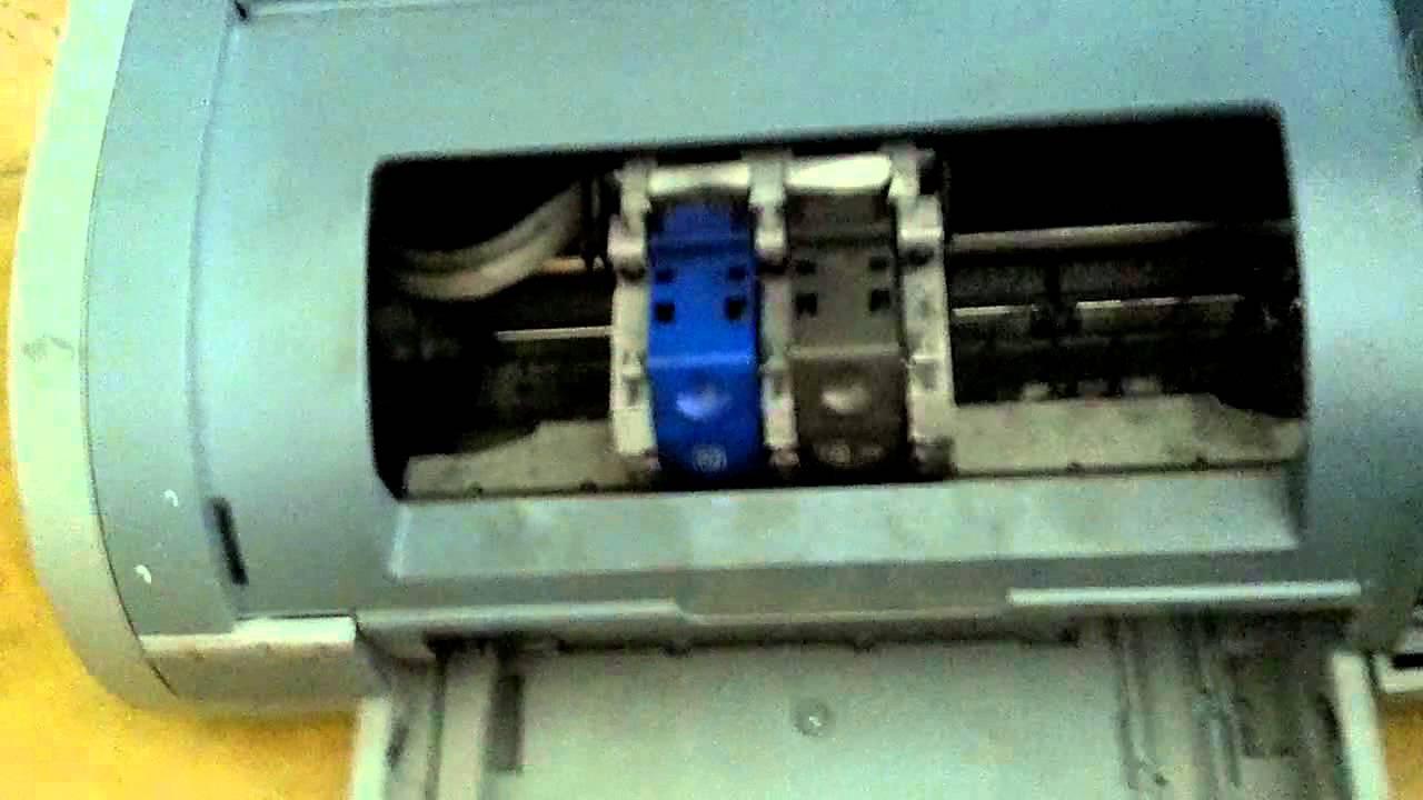 printer desk jet 5150 youtube rh youtube com