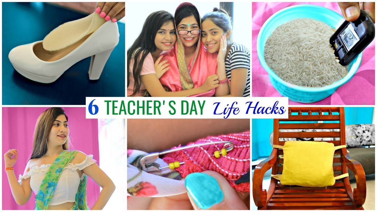 6 TEACHER & STUDENT Life Hacks | #Fashion #Beauty #Fun #Anaysa