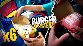 On a été hyper chanceux sur ces 6 burgers mystères de Burger King avec Pidi !