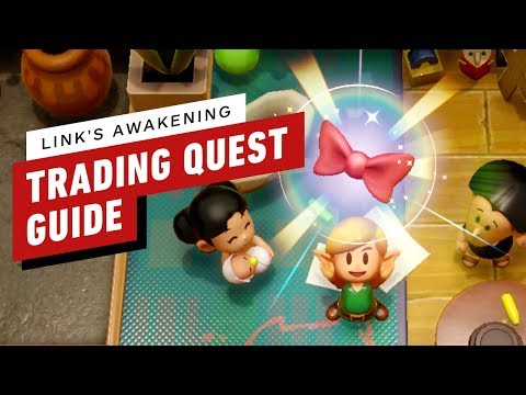 Zelda: Link's Awakening Trading Sequence Guide