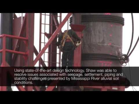 Shaw Project Spotlight - IHNC Project, New Orleans, LA