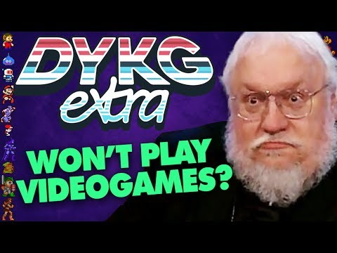 Why George R.R. Martin Won't Play Game of Thrones Games - Did You Know Gaming extra Feat. Dazz