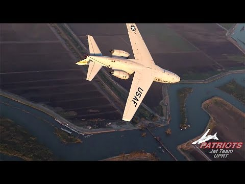 Patriots Jet Team Sabreliner UPRT Promo