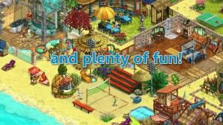 My Sunny Resort  обзор  игры 2015