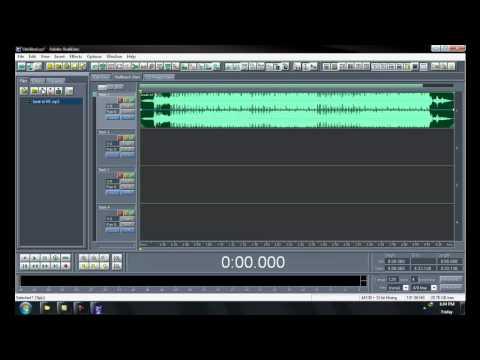 Hướng dẫn Adobe Audition by vethe2@gmail.com