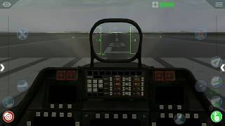 How to turn on engine of F-22 RAPTOR [Flight Simulator X 10]Mobile